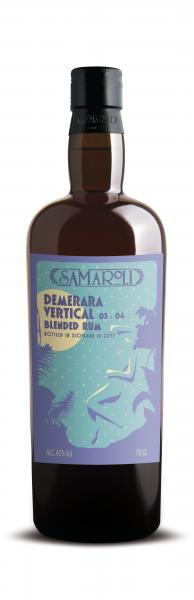 Demerara Vertical 03-04 Blended Rum - Samaroli