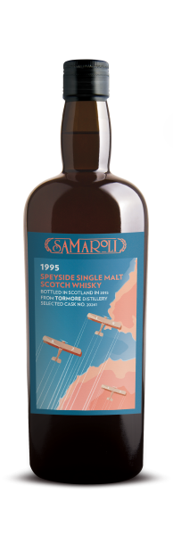 1995 Tormore Speyside Single Malt - Samaroli