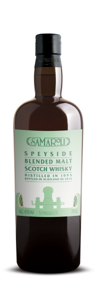 1995 Speyside Blended Malt Scotch Whisky - Samaroli
