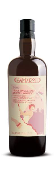 2007 Caol Ila Single Malt Scotch Whisky - Samaroli
