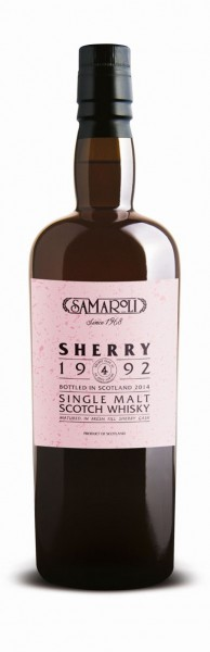 1992 Sherry Single Malt Whisky - Samaroli
