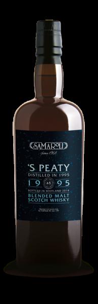 1995 Samaroli's Peaty Blended Malt - Samaroli