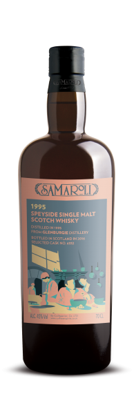 1995 Glenburgie Speyside Single Malt - Samaroli