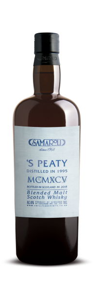 1995 'S Peaty Blended Malt Scotch Whisky - Samaroli