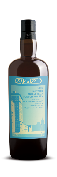 1994 Braeval Speyside Single Malt - Samaroli