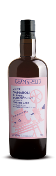 2003 Samaroli Sherry Blended Scotch Whisky - Samaroli