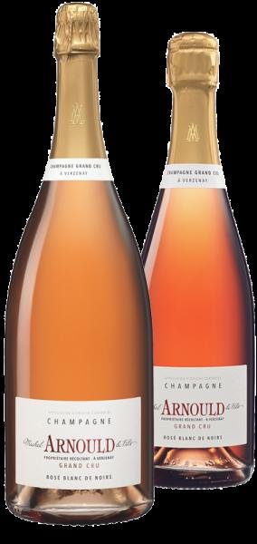 Champagner ROSÉ BLANC DE NOIRS Grand Cru - Michel Arnould