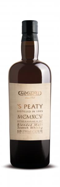 1995 'S Peaty Blended Malt Scotch Whisky - Samaroli